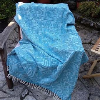Fouta Borizu Locura Azul de Verano